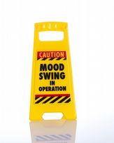 Mood Swing Warning Sign